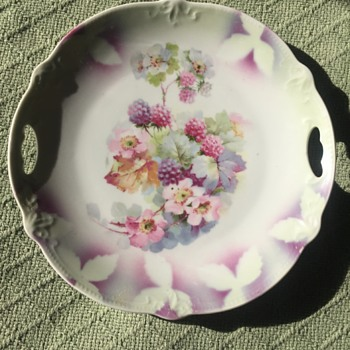 Decorative German Plate - China and Dinnerware