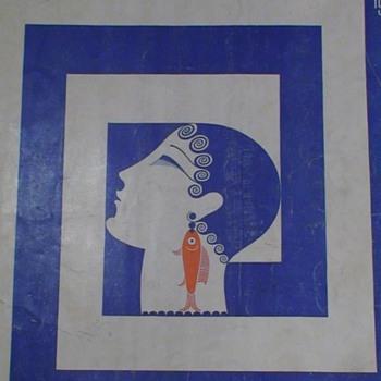 Harper's  Bazar July 1929 Erte