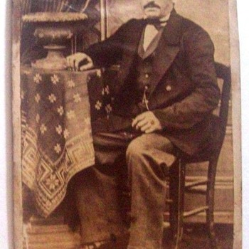 OCCUPATIONAL CDV, This Uniformed Man's Trade Is Yet Unidentified. Any Thoughts?