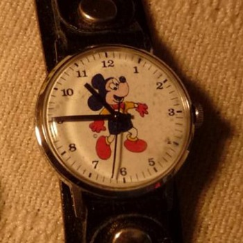 1970's European Mickey Mouse - Wristwatches