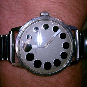 rare? Girard Peregaux wrist watch.   late  1960&#039;s