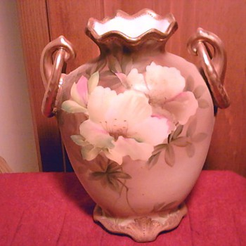 Nippon vintage hand painted vase. - China and Dinnerware