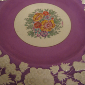 Antique Plates - China and Dinnerware