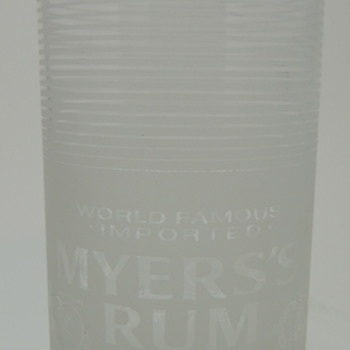 MEYER'S RUM Glass - RASTAL - Made in Germany - Glassware