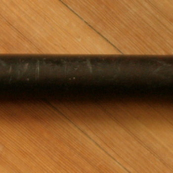 English antique wooden billy club or night stick