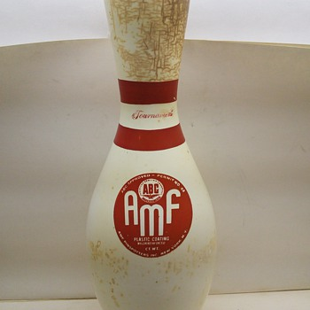 very rare AMF Bowling pin - Games