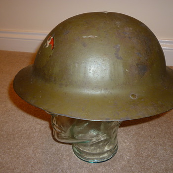 Portuguese ww1 helmet