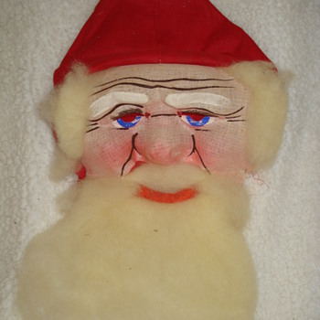 "SANTA CLAUS MASK  ""Merry Christmas! CW Friends"""