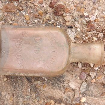 Vidro de Perfume da E. RIMMEL PARIS & LONDRES - Bottles