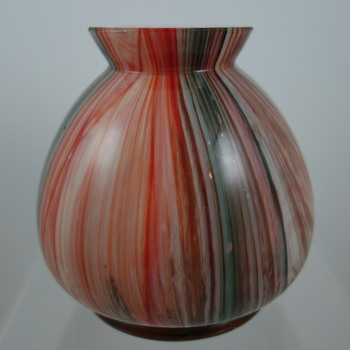 "Marmoriertes ""type"" vase, ca. ?   - Art Glass"