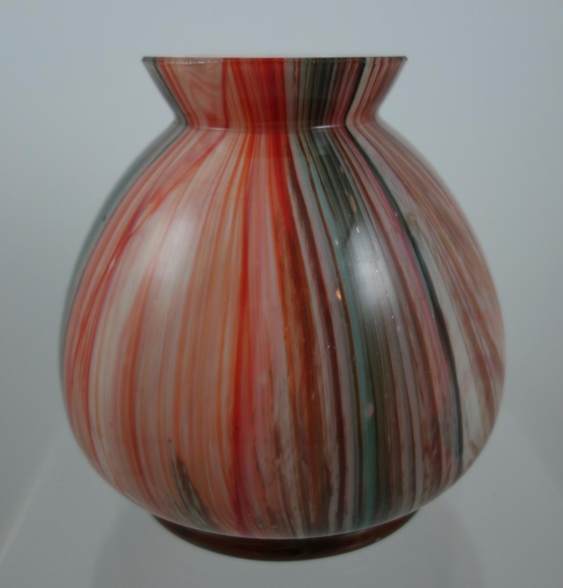 Marmoriertes Type Vase Ca Collectors Weekly