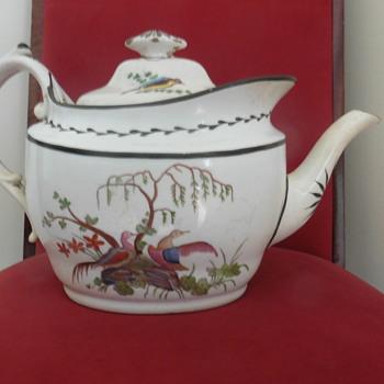A large teapot