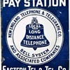 Eastern Tel. & Tel. Co. Porcelain Sign