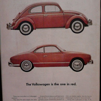 1963 CAR ADS - Advertising