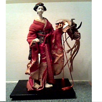 "Princess Yaegaki ""Kabuki"" Doll / Unknown Maker and Age"