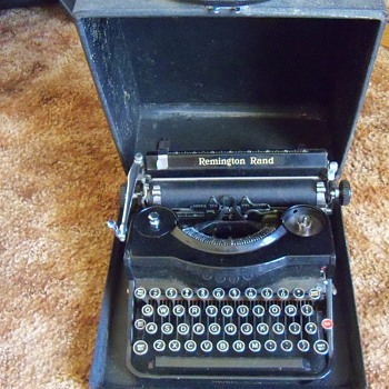 Remington Rand Model 1 Typewriter - Office