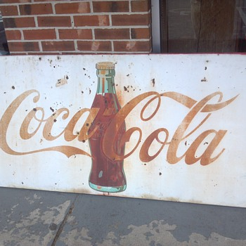 Help Coke Sign