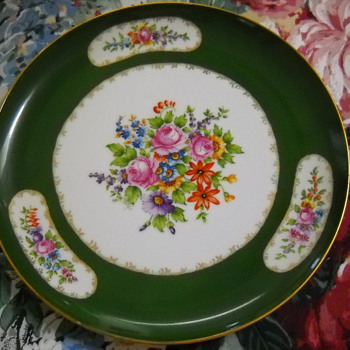 PORCELAIN TRANSFER PLATE - China and Dinnerware