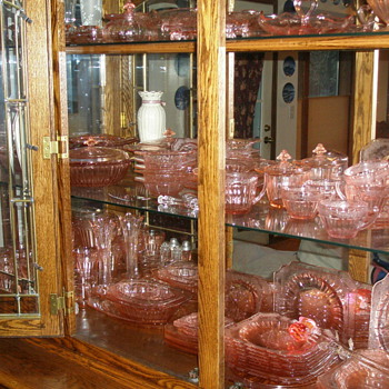 My Wife's Pink Depression Glass - Glassware