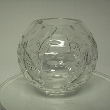 """Crystal Bol""""Czechoslovakia""""XX Century"""