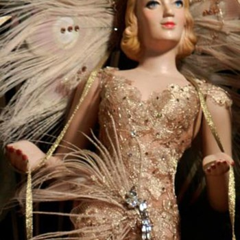 My Mannequin was in New York Follies window Bergdorf Goodman store - Advertising