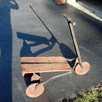 Antique? Vintage? Pump Scooter - Toys
