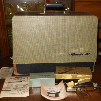 Brother Streamliner Sewing Machine Accessories Etc - Sewing