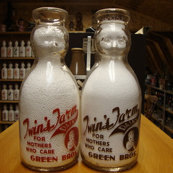 Twin's Farm Dairy Baby Tops......... - Bottles