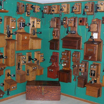 In My Spare Time I Collect Antique Telephones - Telephones