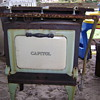 """Caloric"" cast iron cook stove"