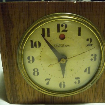 Telechron Alarm Clock - Clocks