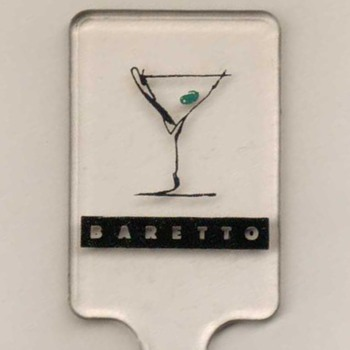 """Baretto"" Fasano Hotel (Brazil) - Cocktail Stirrer"