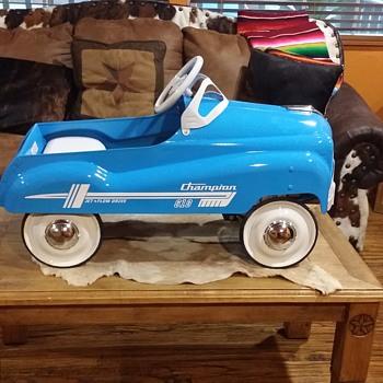 champion pedal car