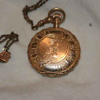 old waltham  need help on info - Pocket Watches
