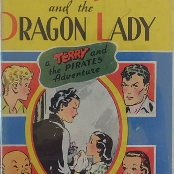 April Kane and the Dragon Lady- a Terry and the Pirates Adventure