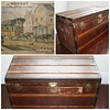 Rare Malles Moynat vintage travel trunk Paris 1909