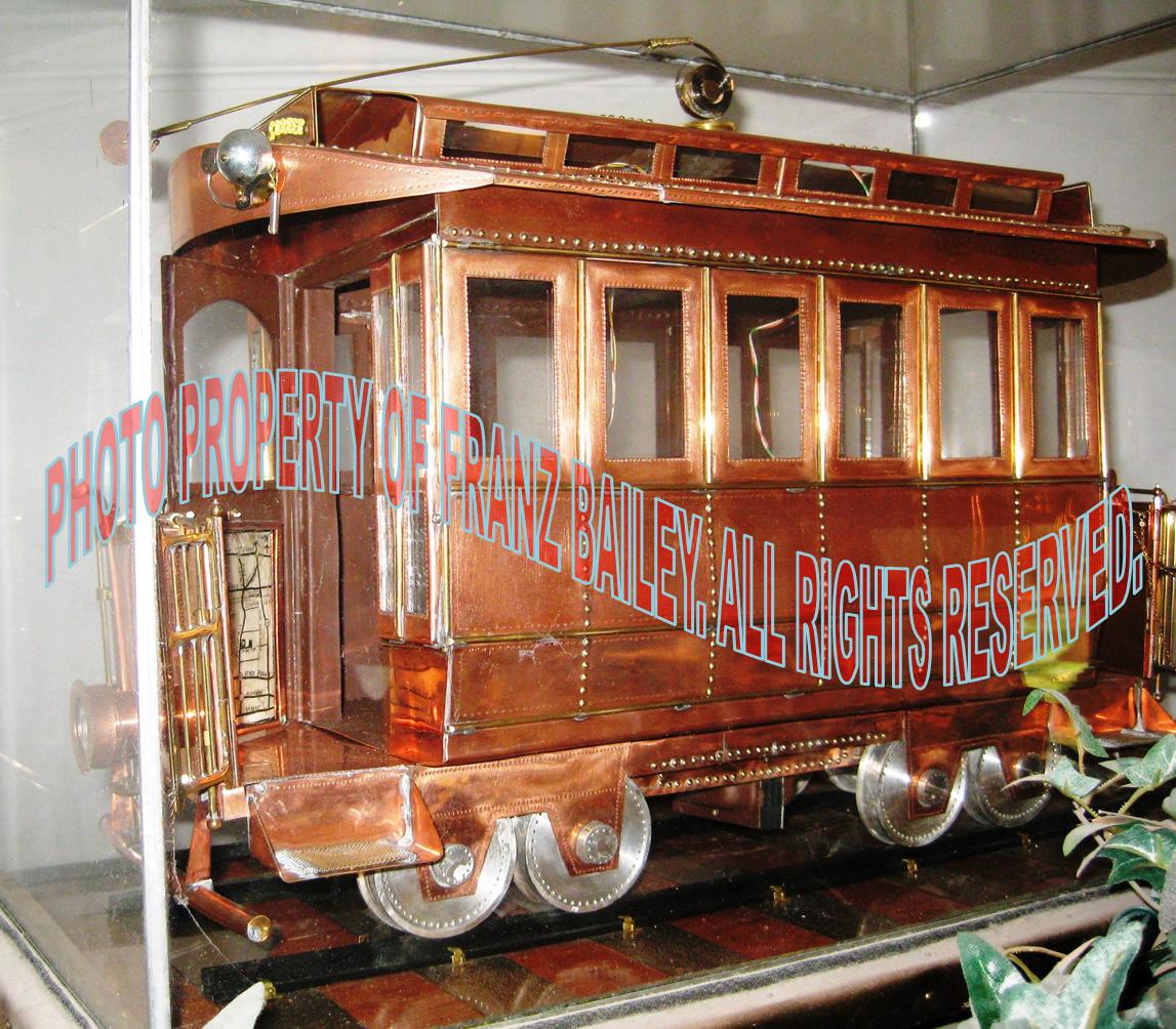Trolley Car, Early Large Model, Jonathan Bailey