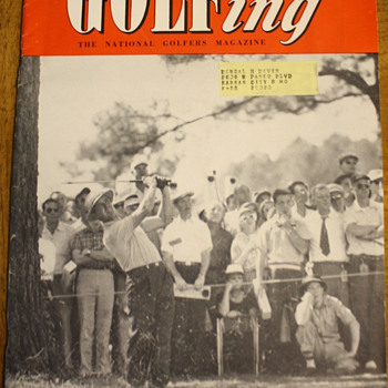 GOLFing The National Golfers Magazine  May 1954 - Paper