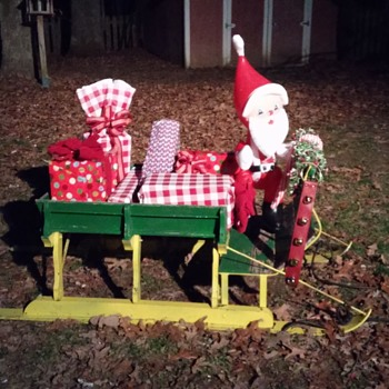 handmade sleigh