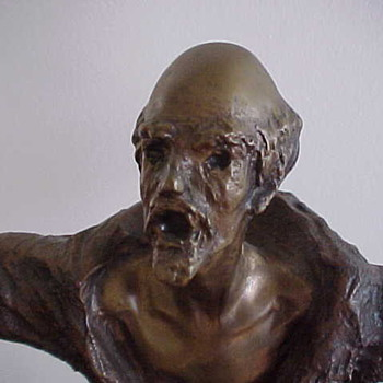Belgian Bronze by Karel Lateur