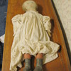 Antique Primative Doll with Face and Hand Made Clothes Folk Art