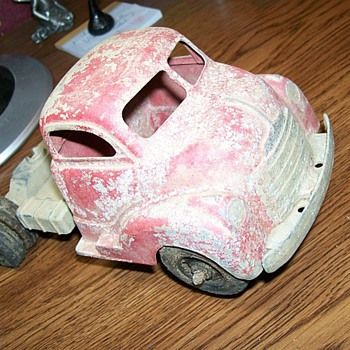 Die cast truck unknown maker