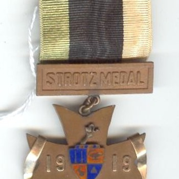 Strotz Medal, St. John's Military Medal - Military and Wartime