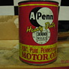 A-Penn 30 Motor oil 1 Case of metal cans in new condition