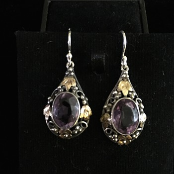 Australian Arts & Crafts earrings - Arts and Crafts
