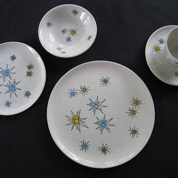Vintage Franciscan Starburst Dinnerware - Mid-Century Modern