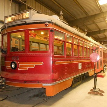 Pacific Electric Hollywood Car - Railroadiana
