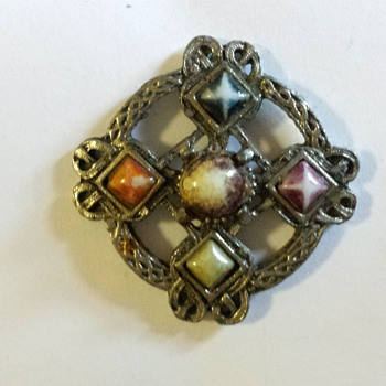 family brooch