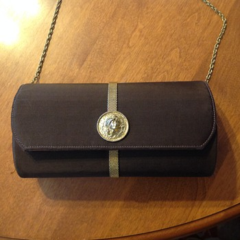 Harry Rosenfield cylinder evening bag