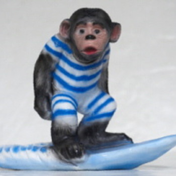 Surf Monkey, aka Chango, aka Tijuana Surf Icon - Outdoor Sports